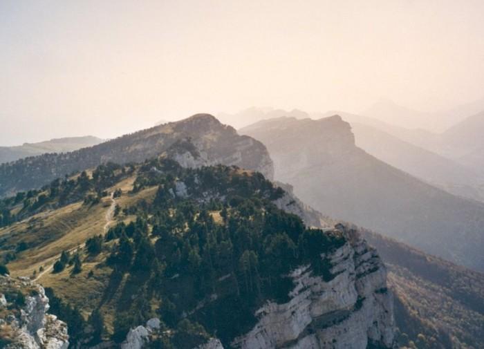 Depuis le sommet du Mont Granier