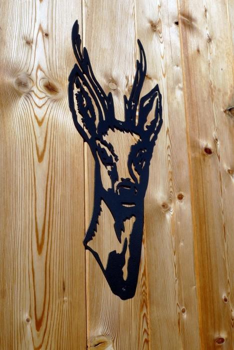 Gravure dans le bois à la chambre d'hôte de Sallanches