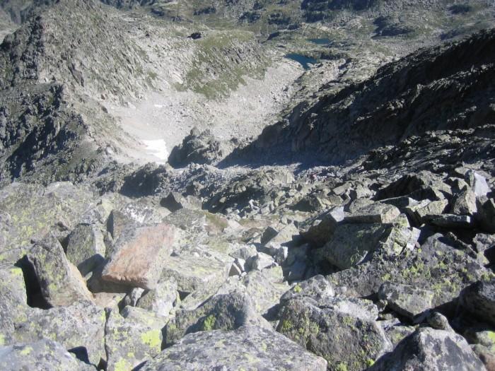 Punta Alta, couloir final