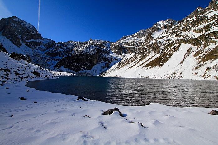 Randonnée au lac d'Ilhéou