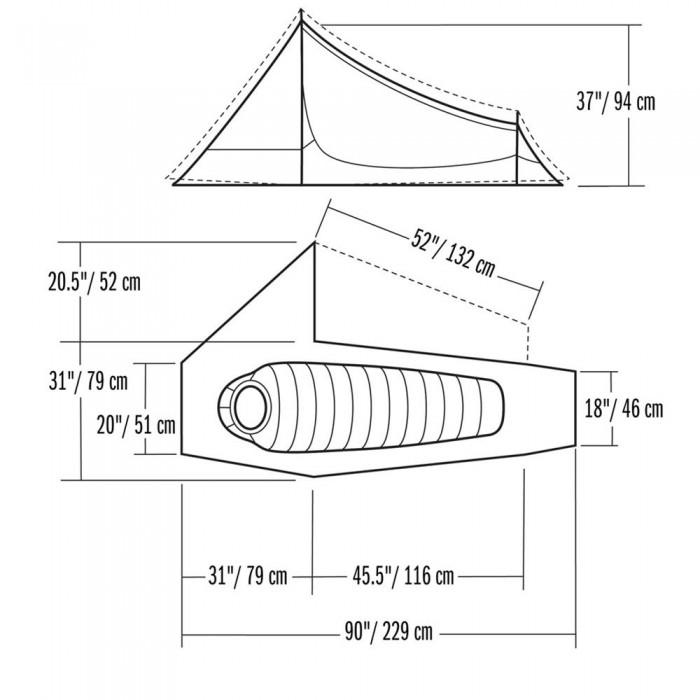 Spécifications Mountain Hardwear Sprite 1