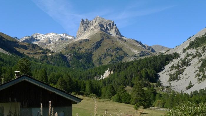 Mont Thabor dans les Alpes
