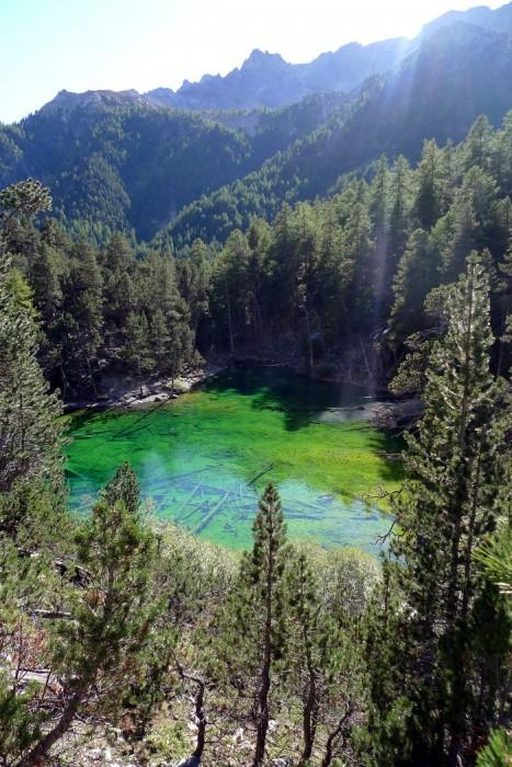 Lac Vert dans la Vallée Etroite ALPES