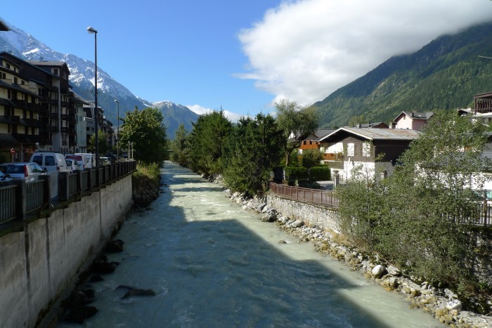 Balade dans Chamonix