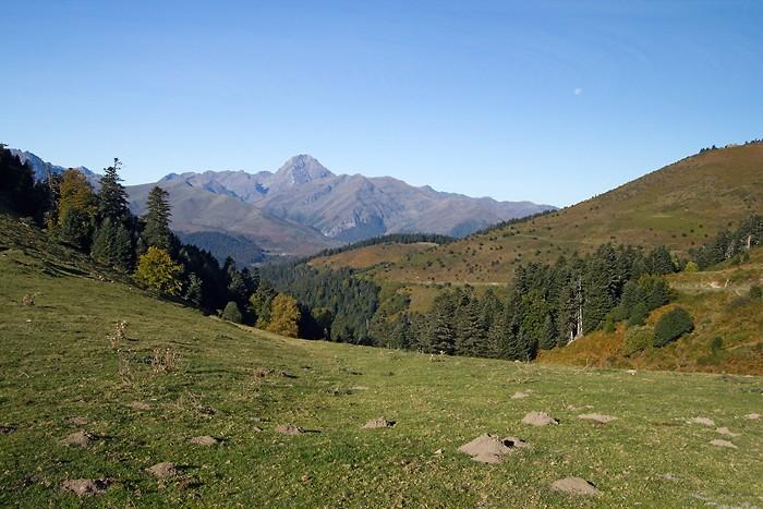 Pic du Midi de Bigorre depuis le col d'Aspin