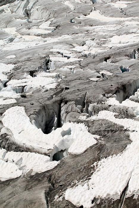 Glacier Blanc des les Alpes