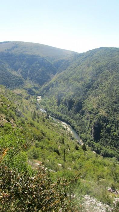 Randonnée dans les Gorges du Tarn et sur les Causses