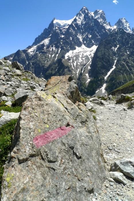 Randonnée au Glacier Blanc