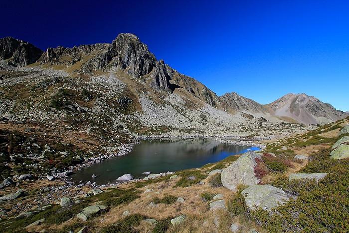 Lac Estagnol dans les Pyrénées