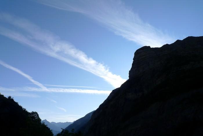 Montée aux lacs Palluel et Faravel