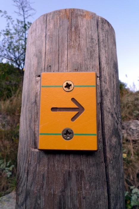 Pour continuer la randonnée, c'est par là, direction Dormillouse