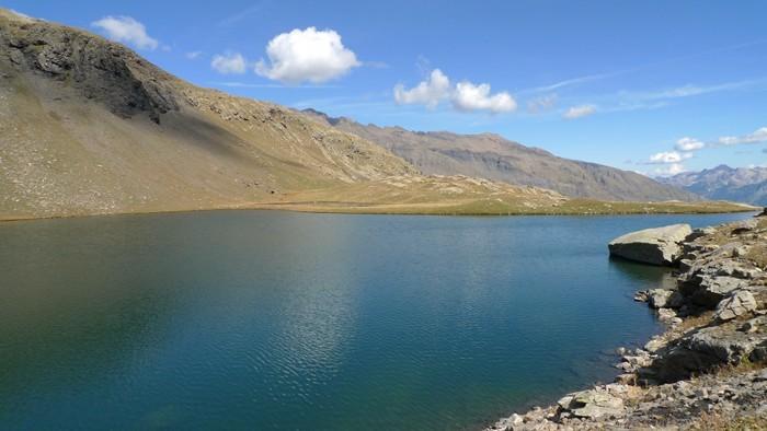 Lac Palluel, randonnée dans les Alpes au départ de Dormillouse