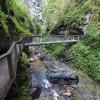 Passerelle dans les gorges de Kakuetta