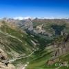Vue sur la vallée depuis le col des Grangettes