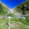 Le lac de la Douche dans les Hautes-Alpes