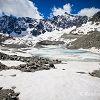Lac et glacier d'Arsine