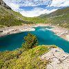 Au dessus du lac des Gloriettes