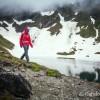 Matériel Patagonia au lac d'Oncet