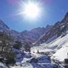 Soleil et neige dans la Vallée de Gaube