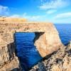 Arche naturelle sur l'�le de Gozo