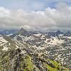 Vue depuis le sommet du Gavizo Cristail