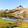 Au bord du lac Roumassot