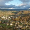 Superbe vue depuis le château de Calmont