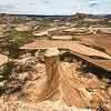 Panorama sur le désert des Bardenas