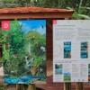 Panneaux informatifs maison de la forêt