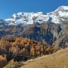 Superbe panorama d'automne