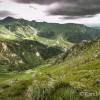 Vue sur le Puy de Sancy et la vall�e du Mont-Dore