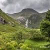 La cascade de Steall Meadows est en vue