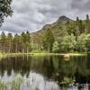 Superbe lac de Glencoe Lochan
