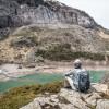 Contemplation du lac des Gloriettes