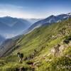 Vallée de Luz-Saint-Sauveur depuis le sentier des crêtes du Viscos