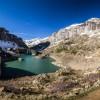 Panoramique du lac des Gloriettes