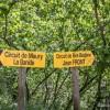Les deux randonnées possibles sont bien indiquées