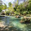Rivière de la Vis dans le Cirque de Navacelles