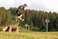 Activités outdoor : Du mountainboard en Belledonne