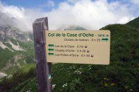 Activités outdoor : Col de la Case d'Oche