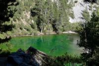 Lac Vert dans les Hautes-Alpes
