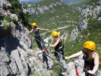 Activités outdoor : Via ferrata du Thaurac dans l'Hérault