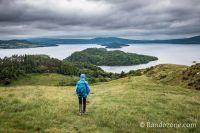 Nous faisons une boucle pour descendre jusqu'au Loch Lomond