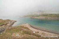 Nuage sur le lac d'Ossoue