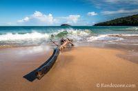 Balade sur la plage en Guadeloupe