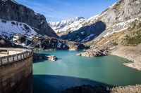 Lac des Gloriettes et cirque d'Estaubé en arrière plan