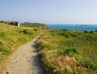 Sentier à la Pointe de la Varde