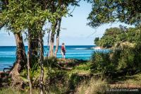 Randonnée le long de la plage depuis Deshaies