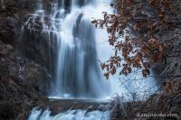 Zoom sur la cascade de Rûnes