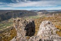 Point de vue depuis le Roc des Agudes
